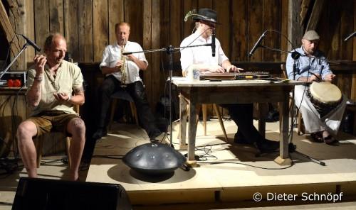 El Zitheracchi, Andreas Demmel, Leonhard Börmann und Rainer Fabich